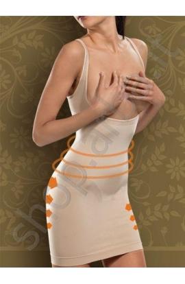 Sottoveste modellante riducente 2 taglie in meno scollatura sottoseno Body Effect