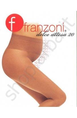 Collant Gestante 20 elasticizzata velata Dolce Attesa Franzoni