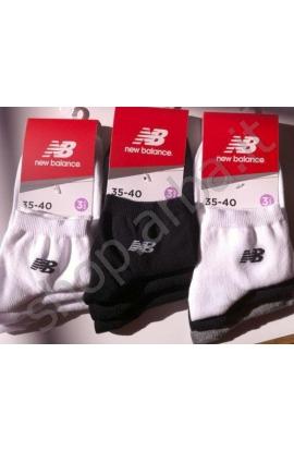 3 Midi calze New Balance donna NBD19 confezione da 3 paia