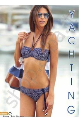 Bikini donna a fascia pois modello Saint Florance Bellissima