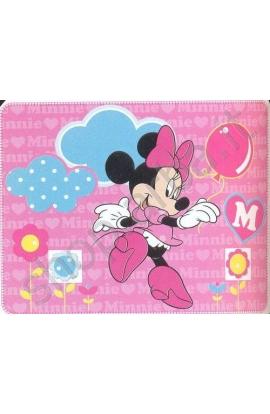 Coperta per bimbi in pile Disney 120x140 Minnie