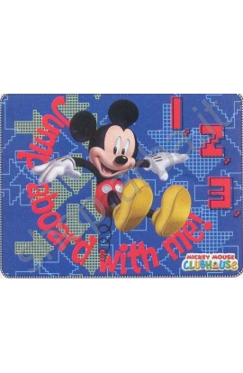 Coperta per bimbi in pile Disney 120x140 Topolino