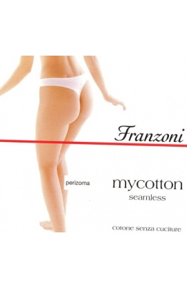 Perizoma cotone seamless senza cuciture My Cotton Franzoni