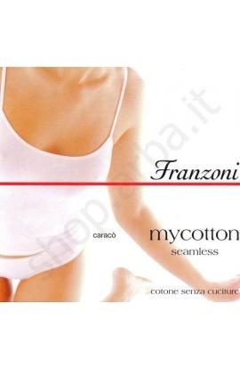 Canotta cotone senza cuciture My Cotton Caracò Franzoni
