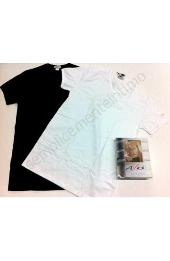 T-shirt elasticizzata scollo a V da ragazzo AXO'