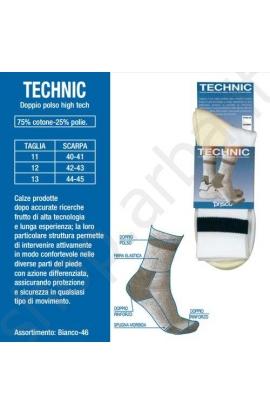 Calza sportiva per uomo ad alta tecnologia TECHNIC