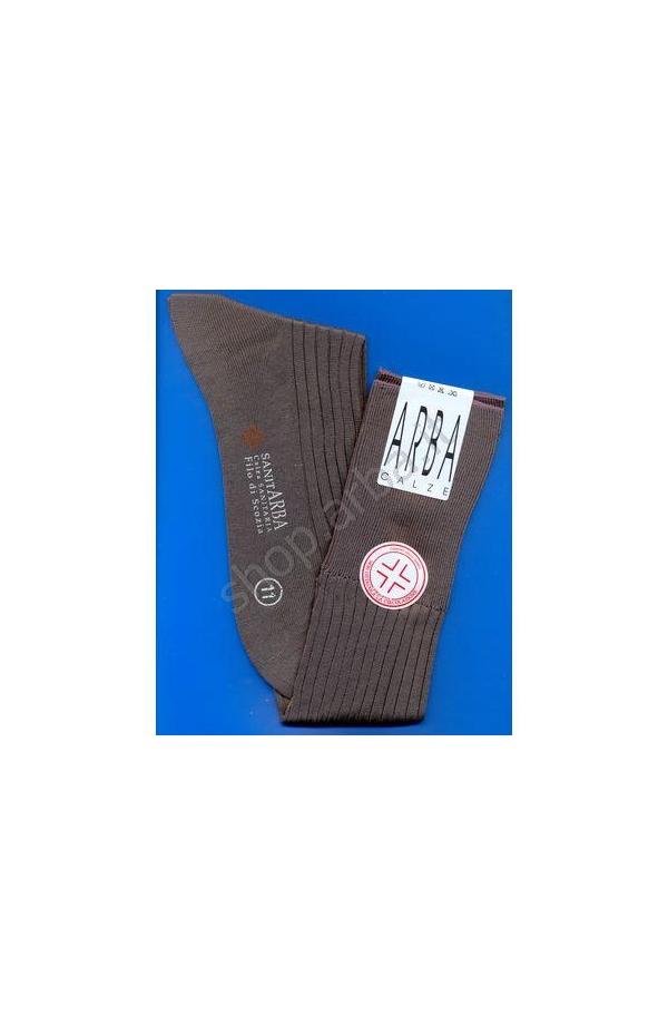 Calza Sanitaria lunga Filo di Scozia elastico supersoft
