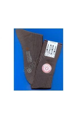 Calza Sanitaria gamba lunga Filo di Scozia elastico supersoft