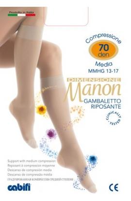 Gambaletto 70 den riposante a compressione graduata Manon per vene varicose