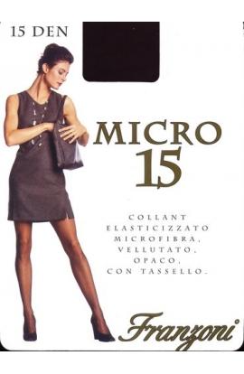 Collant microfibra velatissimo 15 den Micro 15 6 paia 9,90 Misura 1
