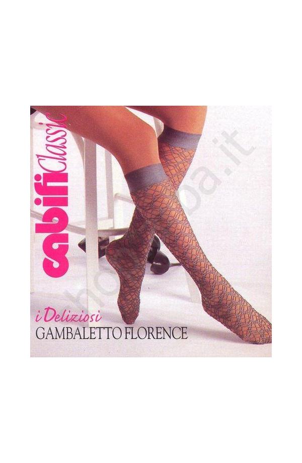 Gambaletto per donna in pizzo elasticizzato Cabifi Florence
