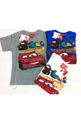 T-Shirt Cars per bimbo cotone 100% CRT1