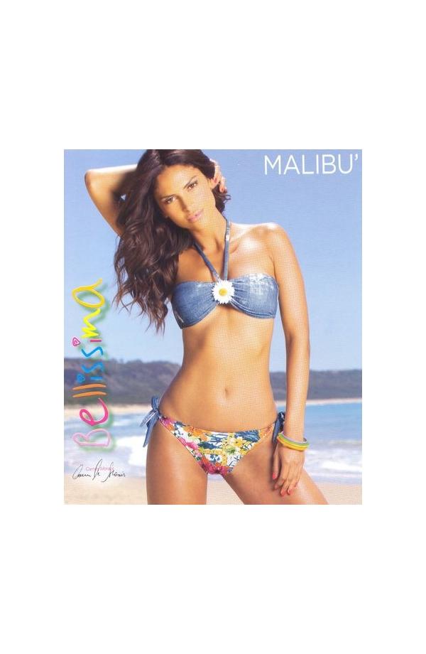 Bikini a fascia con laccetti Malibu'
