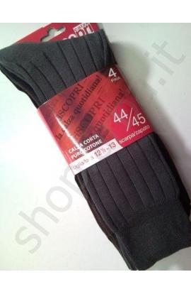 3 paia di Calze corte per uomo gamba corta Pablito 100% cotone OFFERTA SPECIALE