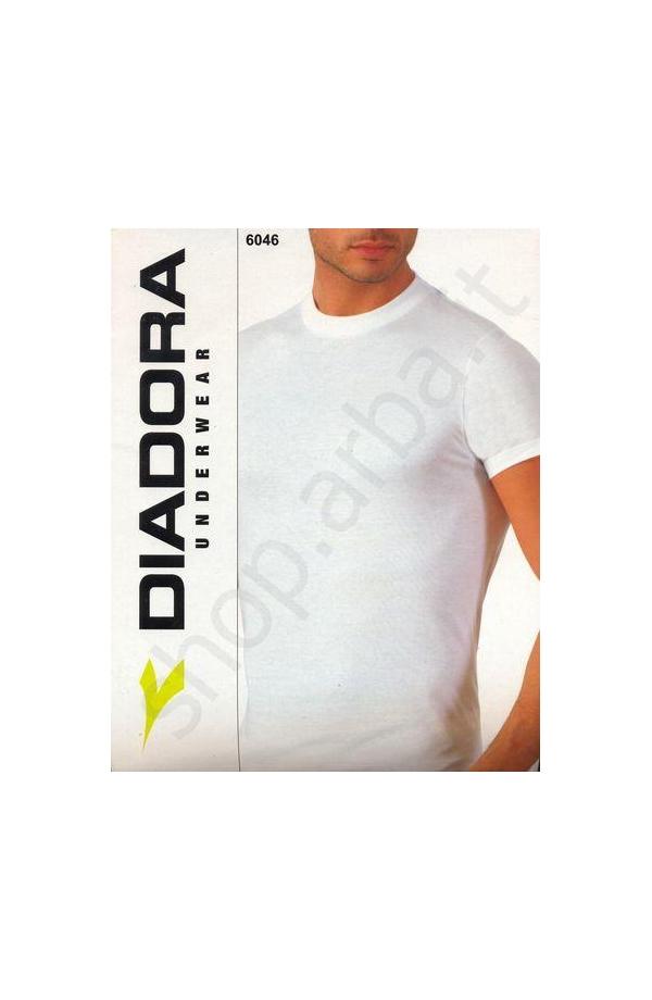 3 T-shirt collo tondo fruit Diadora cotone 100% 3 pezzi