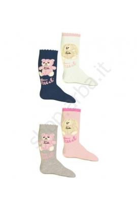 2 calze baby Trudy Femmina caldo cotone invernale  2 paia