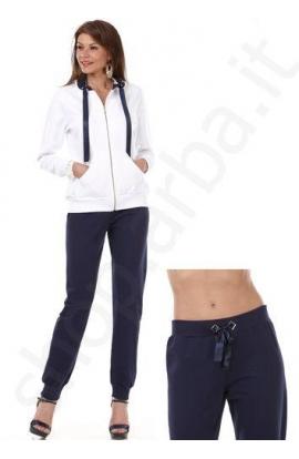 stile unico seleziona per il meglio fornitore ufficiale Tuta donna misura calibrata 3XL e 4XL cotone elasticizzato ...