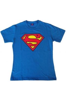 T-shirt donna o ragazza originale Superman