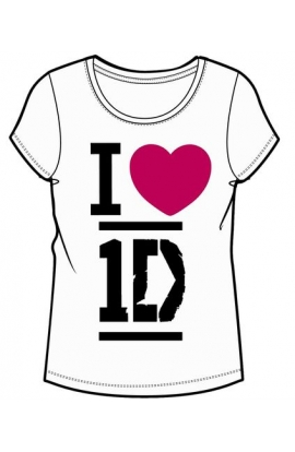 T-shirt ONE DIRECTION ragazza da 8 a 14 anni originale