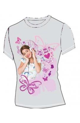 T-shirt ragazza da 8 a 16 anni originale Violetta