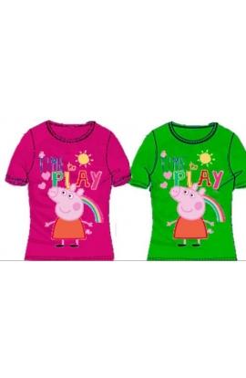 T-Shirt Peppa Pig per bimba cotone PEP054 originali