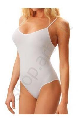 Body intimo elasticizzato microfibra liscio spalla stretta Intimidea 510039