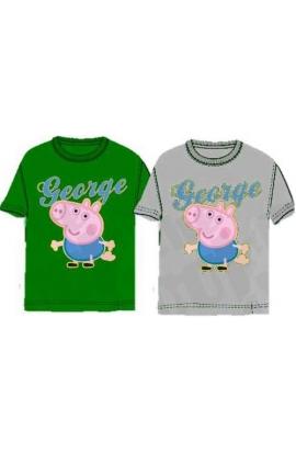 T-Shirt George Pig per bambino cotone 53963 originali