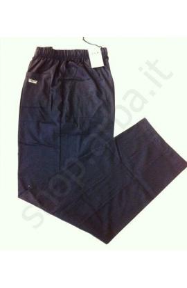 Pantalone tuta per uomo ideale per fisioterapia leggero 100% cotone J&K 045