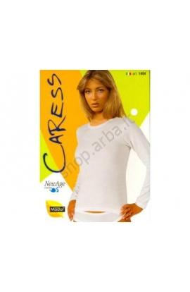 Maglia Manica lunga donna giro collo cotone modal 1404 Caress