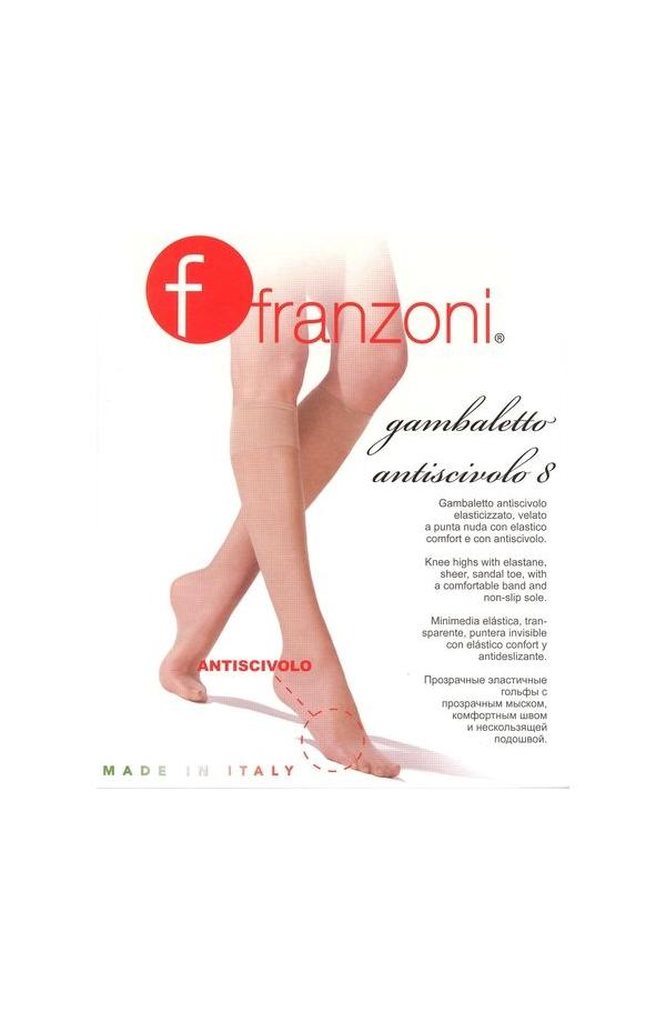 Gambaletto ANTISCIVOLO velatissimo 8 denari per sandali e sabot