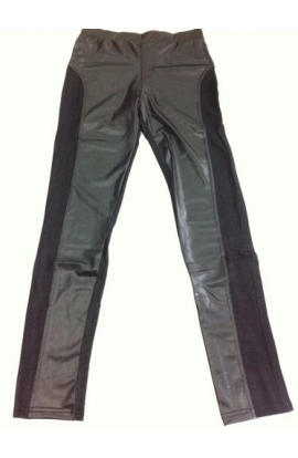 Leggings per donna jeans e pelle 731