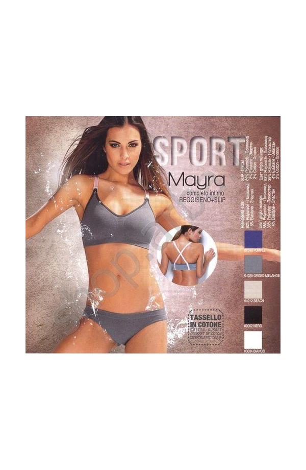 Completo intimo sportivo elasticizzato Mayra