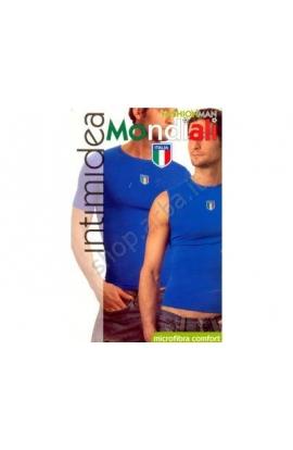 T-shirt uomo nazionale Italiana microfibra senza cuciture