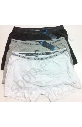 Boxer elasticizzati cotone tinta unita Sergio Tacchini 231 misura 6/XL