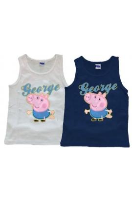 Canottiera George Pig per bambino cotone C53963 originali