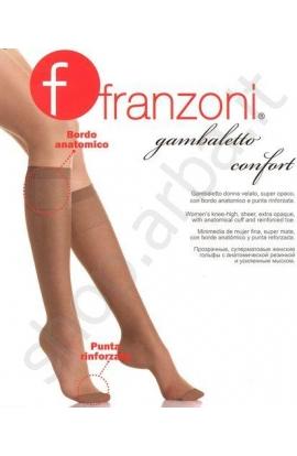 Gambaletto Comfort 20 Franzoni velato elastico morbido sanitario