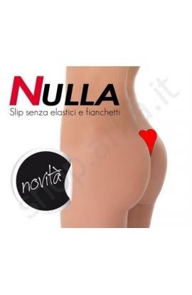 Slip perizoma invisibile adesivo senza elastici e fianchetti NULLA