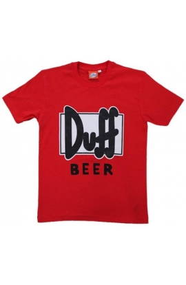T-shirt DUFF originale The Simpsons cotone 100%
