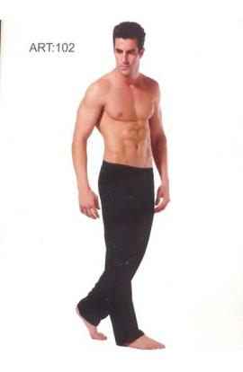 Pantalone tuta estivo uomo ideale per fisioterapia puro cotone 102
