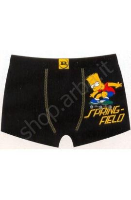 Boxer cotone elasticizzato per ragazzo The Simpsons original