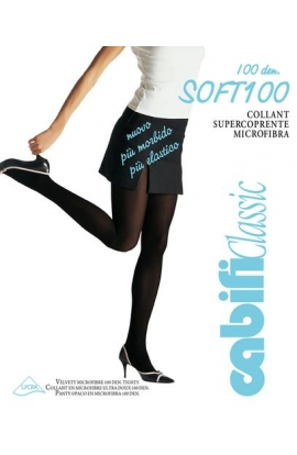 Collant Supercoprente microfibra vellutata pesante Cabifi Soft 100