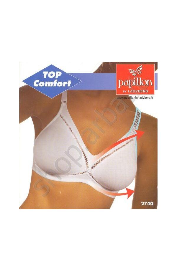 Reggiseno Top Comfort modellante 2740 coppa B BIANCO