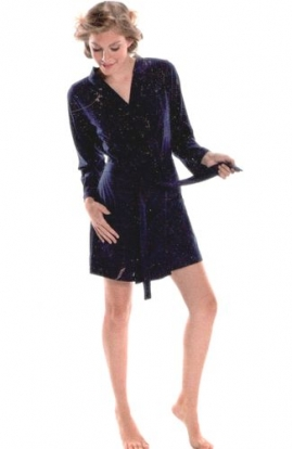 Vestaglia corta estiva 100% cotone modello kimono NSN 14977