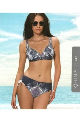 Bikini per signora coppa C slip alto LF147