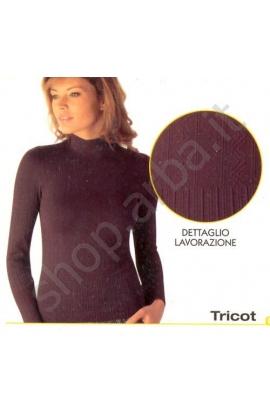 Lupetto donna microfibra a tracce Tricot lavorato Intimidea 210792