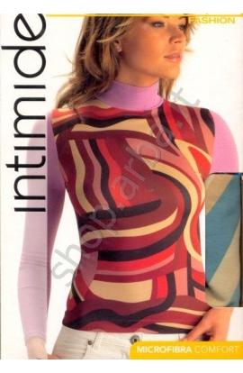 Lupetto microfibra per donna stampato moda Fantasy Intimidea 210818