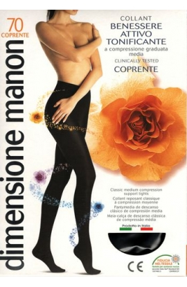 Collant 70 COPRENTE Manon CLASSIC riposante a compressione graduata