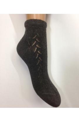 Calza per donna corta traforata per scarpe francesine in caldo cotone 243
