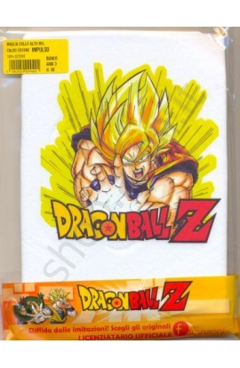 Lupetto bimbo manica lunga caldo cotone Impulso Dragon Ball