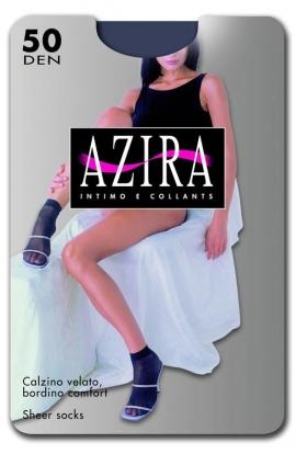 Calzino Micro 50 den coprente microfibra bordo comfort Azira Minibasic 50